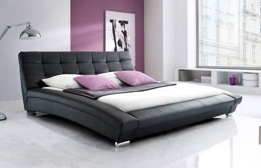 Bella Bed Queen Black