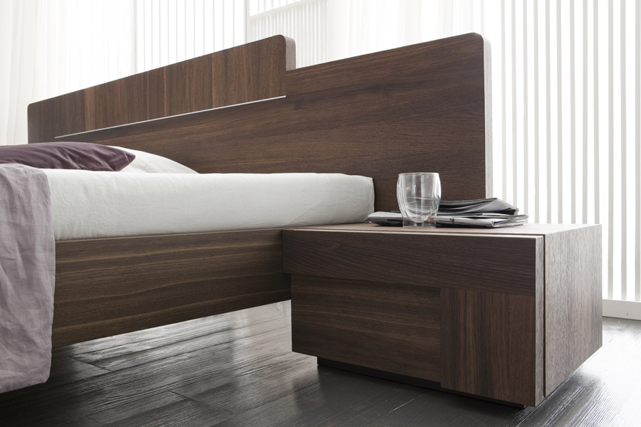 Modern Oak Platform Bed The Bronx Bed At Modern Digs