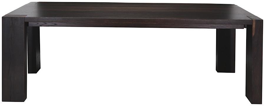 Kota Dining Table Seared Oak 94 5 Quot Modern Digs Furniture