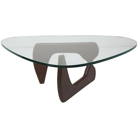 Yin Yang Coffee Table Small Brown Modern Digs Furniture