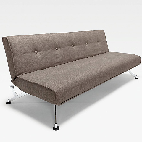 Clubber sofa olive without arms modern digs furniture for Clubber sofa bed