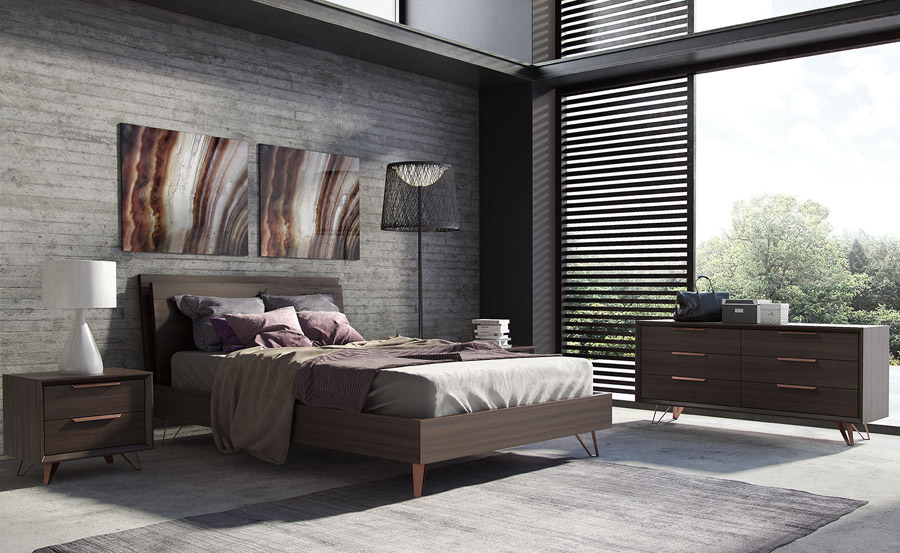 Grand Bedroom Set Queen Dresser Modern Digs Furniture