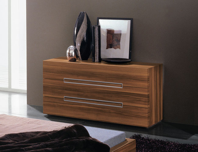 Contemporary Bedroom Set London Black By Acme Furniture: Genoa Bedroom Set King