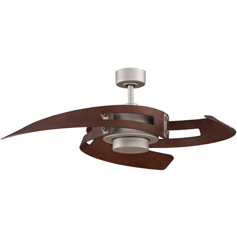 Avaston Ceiling Fan Satin Nickel Modern Digs Furniture