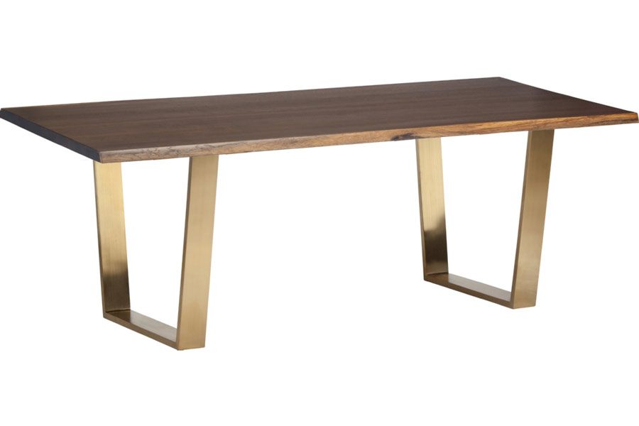 Versailles Gold Dining Table 78 Modern Digs Furniture