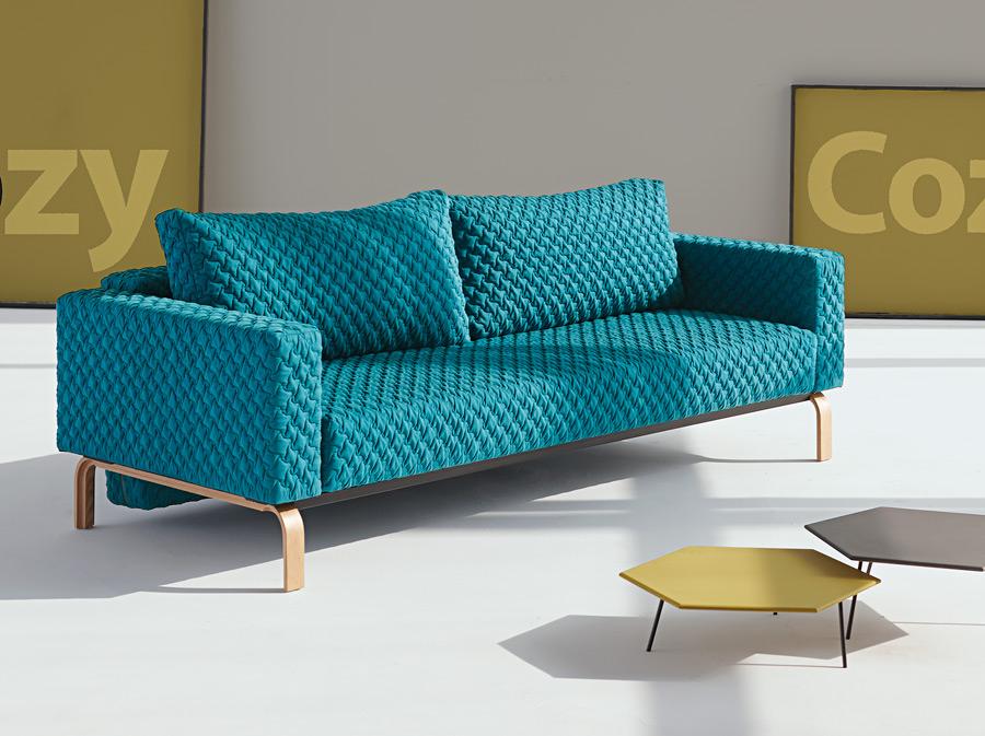 cassius coz sofa petrol oak modern digs furniture. Black Bedroom Furniture Sets. Home Design Ideas