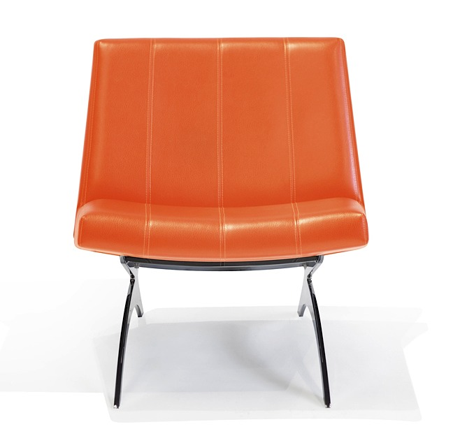 Concorde Chair Lexi Orange Modern Digs Furniture