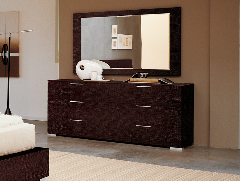 marrone bedroom set queen modern digs furniture