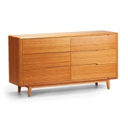 Currant Six Drawer Dresser
