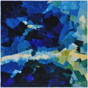 Chunky Blue Abstract