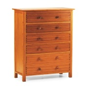 Hosta Five Drawer Chest