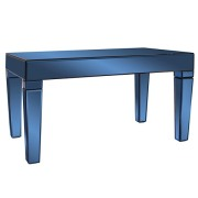 Cobalt Mirrored Coffee Table
