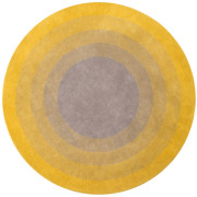 Yellow Fading Sun Rug