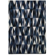 Blue Coloured Classic Rug