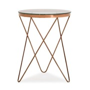 Marquee Side Table