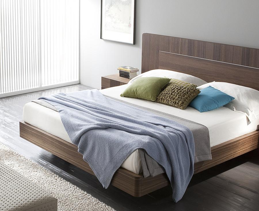 Modern Oak Platform Bed The Bronx Bed At Modern Digs