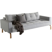 Dual Sofa with Arms
