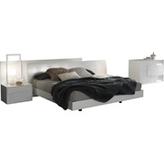 Nightfly White Bedroom Set