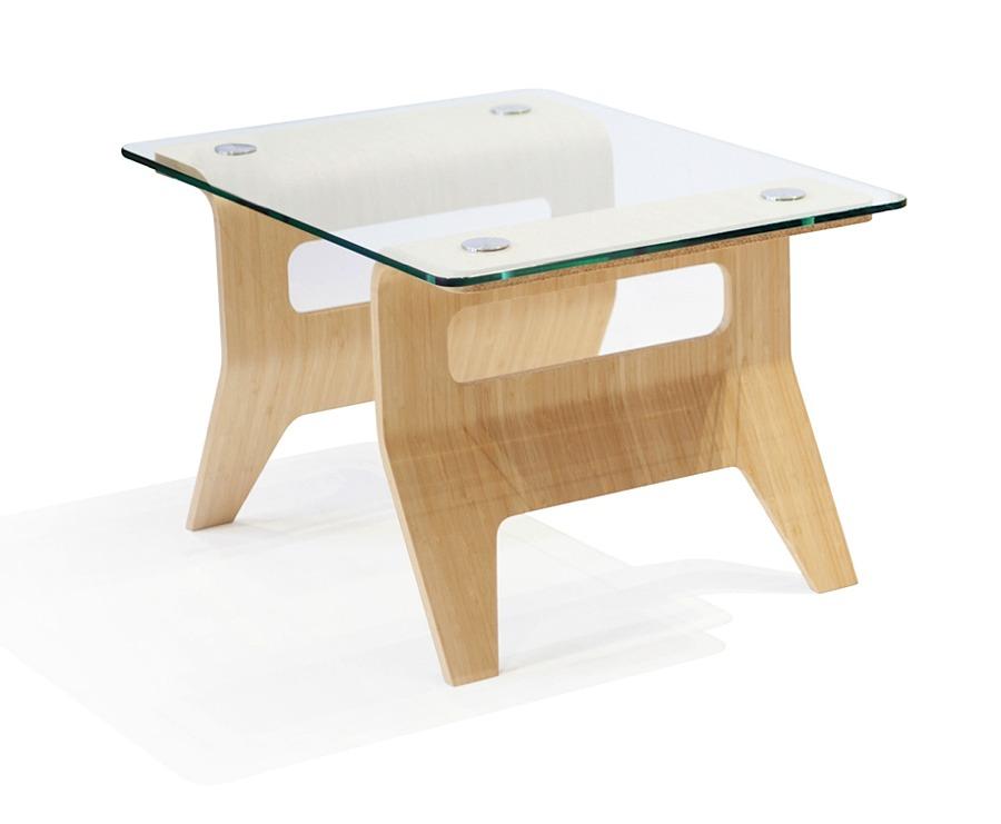 Osaka Side Table Bamboo Modern Digs Furniture