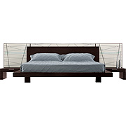 Venice Bed & Nightstands