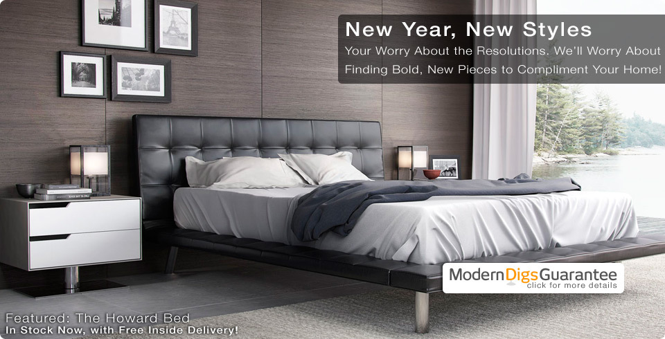 Shop Affordable Modern Furniture for Home & Office | ModLoft Howard Bed