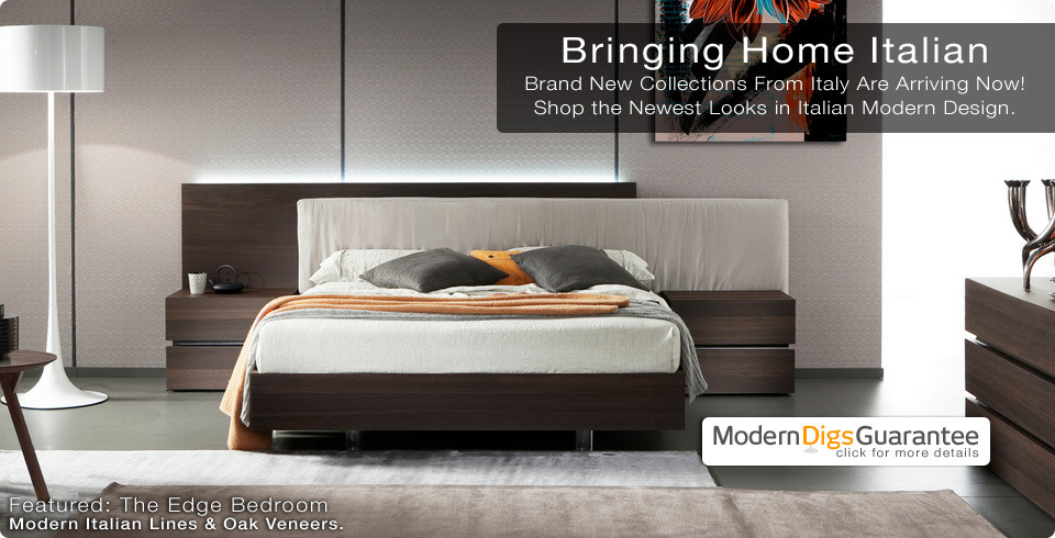 Shop Modern Furniture for Home & Office | Edge Bed from Rossetto