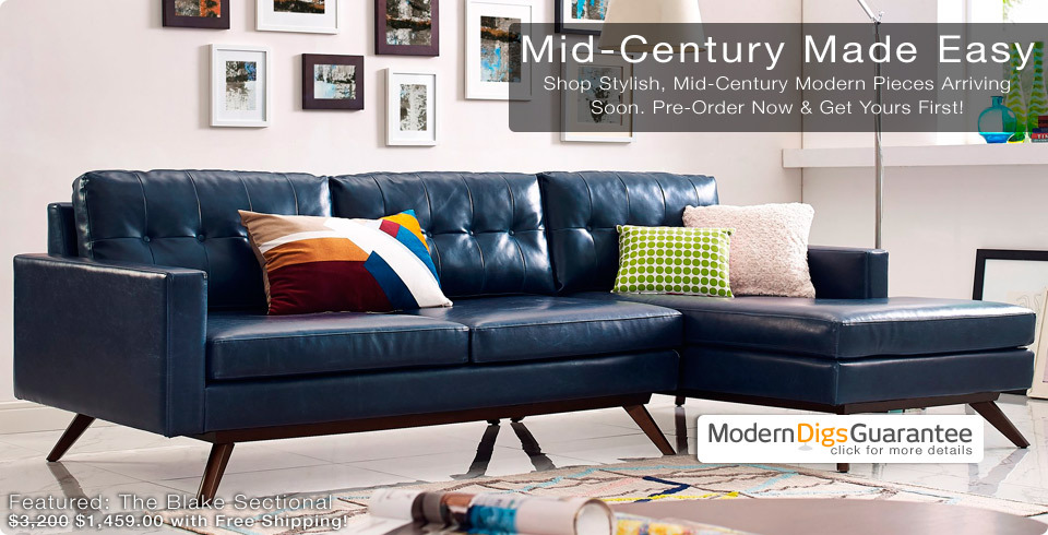 Shop Affordable Modern Furniture for Home & Office | The Blake Sectional