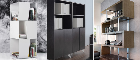 Modern Office Bookcases Contemporary Bookshelves - Contemporary bookshelves