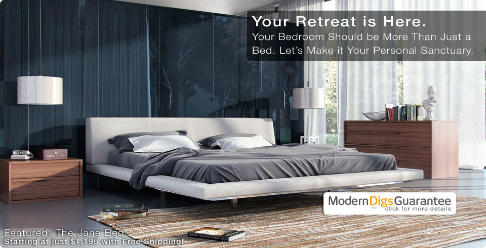 Shop Affordable Modern Furniture for Home & Office | ModLoft's Jane Bed