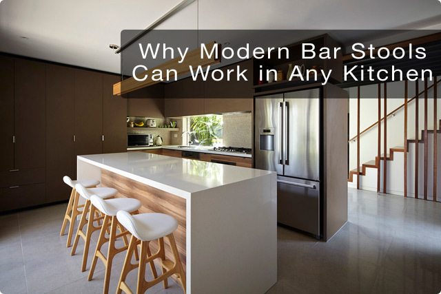 Why Modern Bar Stools Work in Any Kitchen