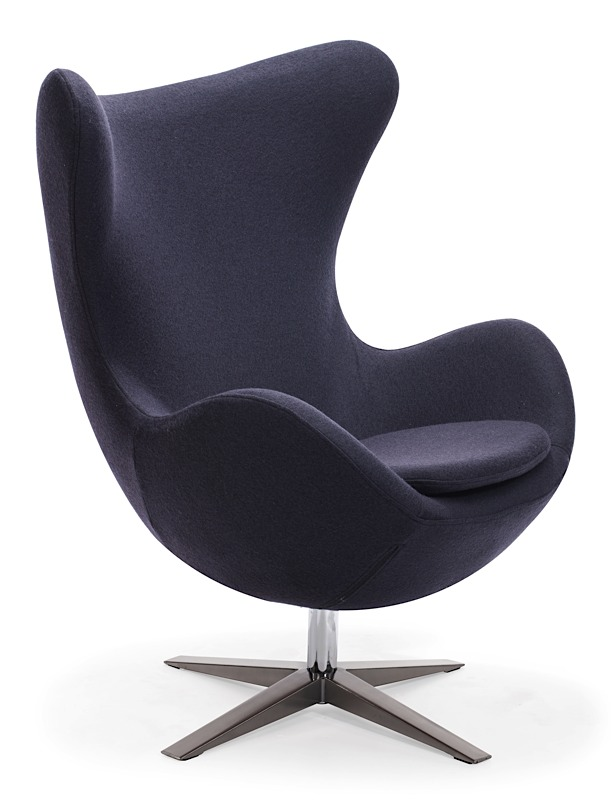 Skien Arm Chair Iron Gray Modern Digs Furniture