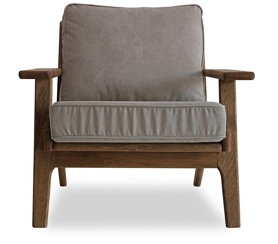 Beckett Lounge Chair. Detail ...