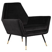 Veronica Velour Accent Chair