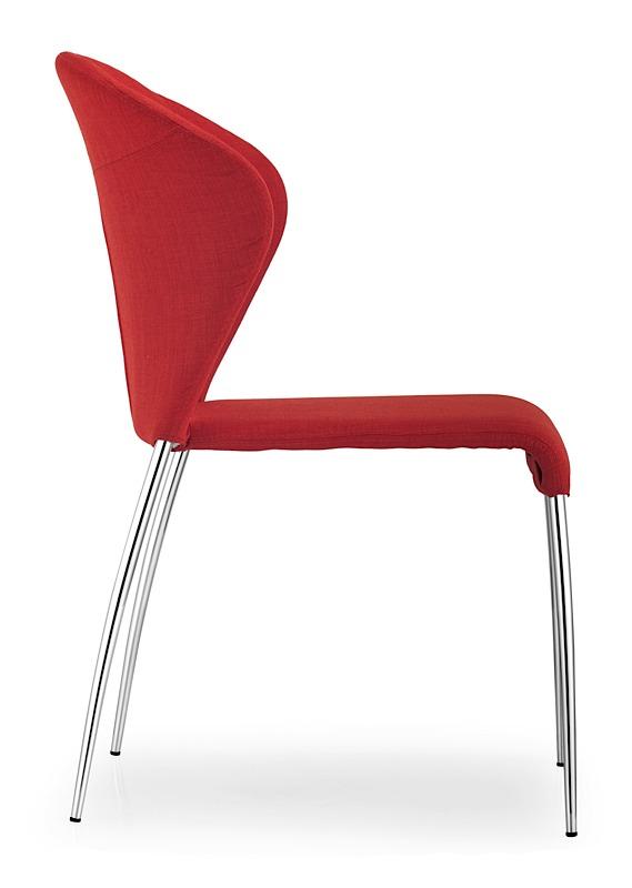 Oulu Chair   Tangerine Fabric