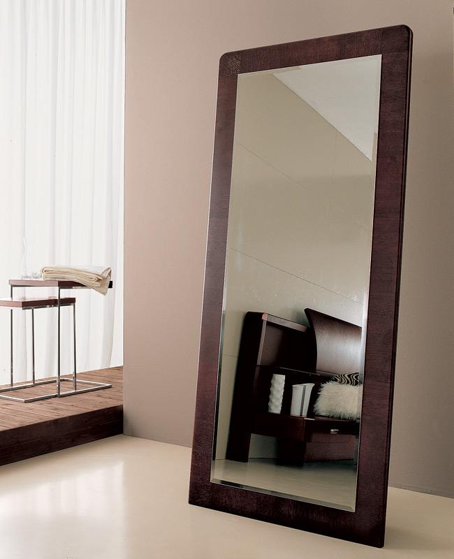 Wood Floor Length Mirror | Floor Mirrors Modern