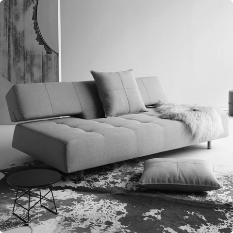 Long Horn Deluxe Excess Sofa Custom Fabric