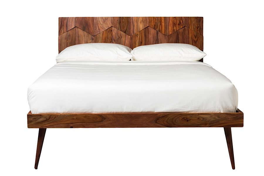 Sheesham Wood Bed Frame Oxygen Bed At Modern Digs