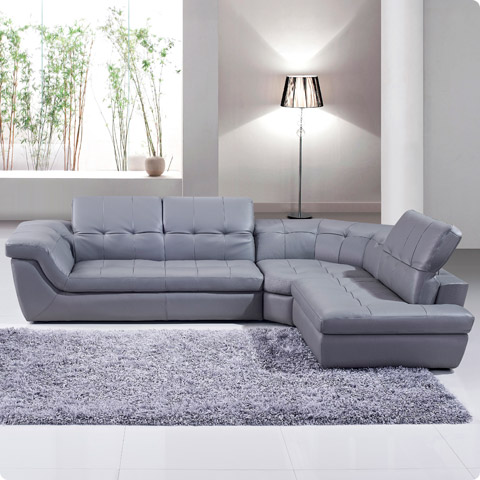 Sofia Leather Sectional