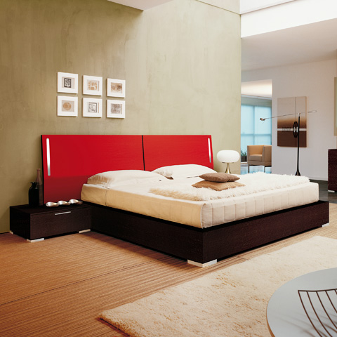Rosso Bed