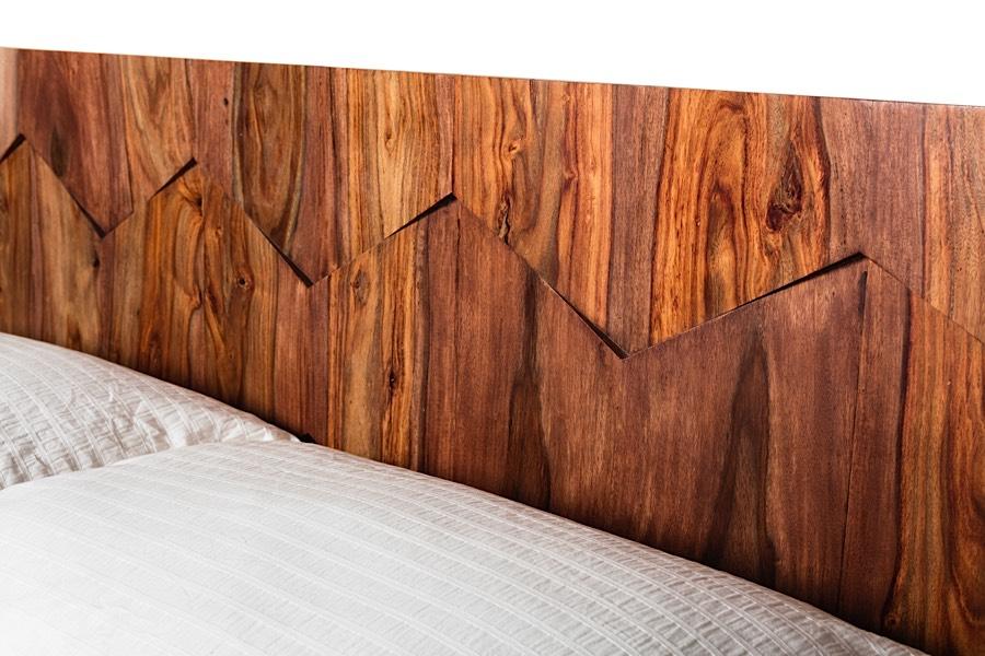 Sheesham Wood Bed Frame Oxygen Bed At Modern Digs