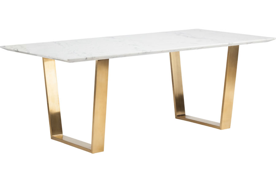 Modern Marble Dining Table Marble Gold Dining Table : d707332vogn3 from www.moderndigsfurniture.com size 900 x 600 jpeg 23kB