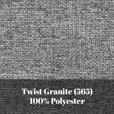 Fabric Swatch Twist Granite