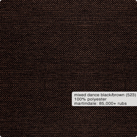 Fabric Swatch Mixed Dance Black/Brown