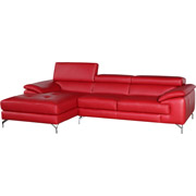 Maria Leather Sectional
