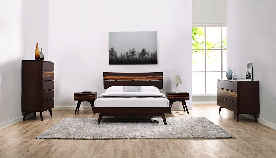 Azara Queen Bamboo Bed Frame Eco Friendly Amp Stylish