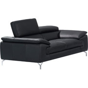 Maria Leather Loveseat