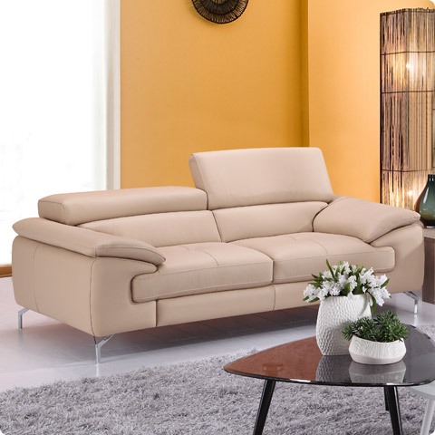 Maria Leather Sofa
