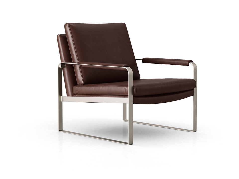 Fantastic Charles Leather Lounge Chair By Modloft On Sale At Modern Digs Cjindustries Chair Design For Home Cjindustriesco