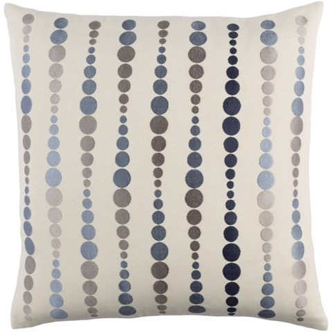 Blue Dewdrop Pillow