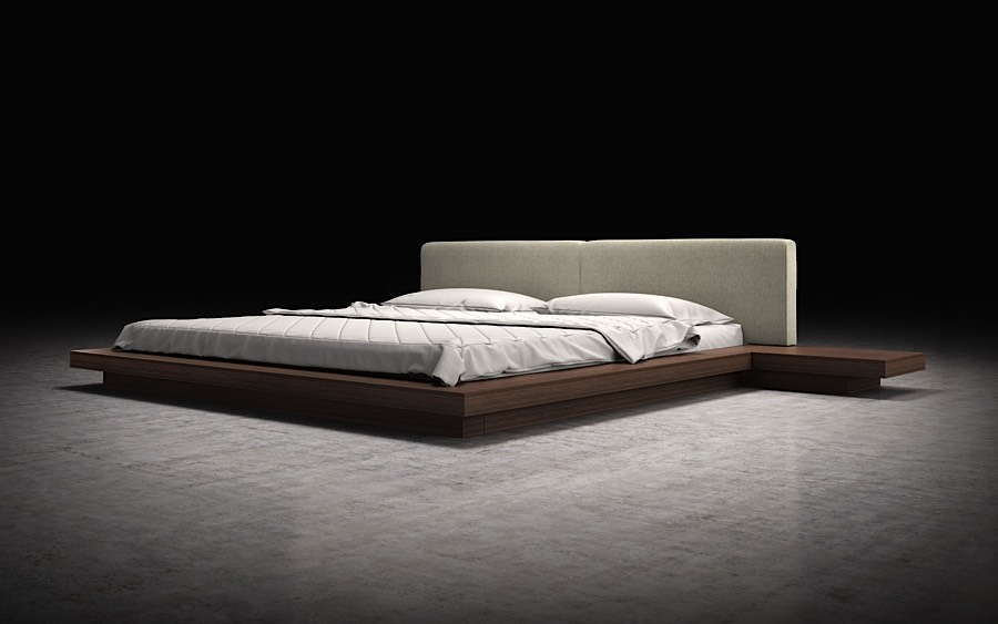 Akita Low Profile Japanese Platform Bed Modern Digs